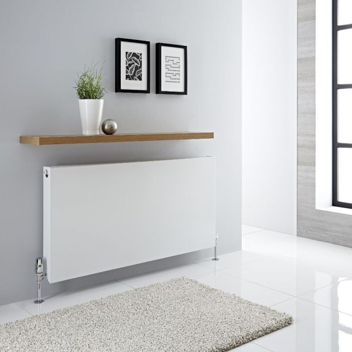 Milano Mono - Double Flat Panel Plus Convector Radiator - 600mm x 1200mm