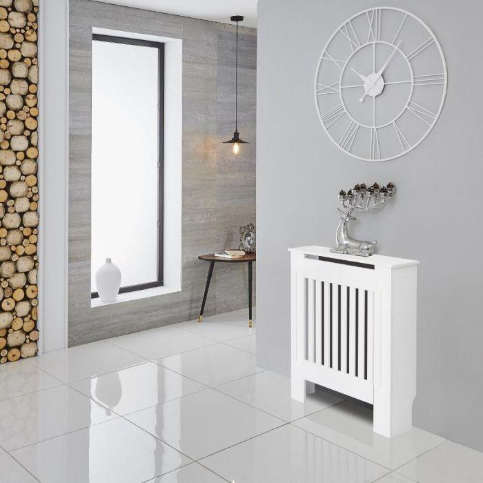 Milano Ealing - White Radiator Cabinet - 815mm x 780mm