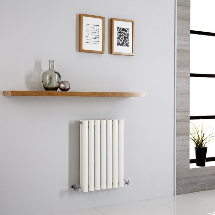 Milano Aruba - Modern Horizontal Designer Radiator 600mm x 415mm (Double Panel)