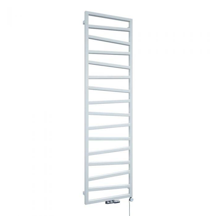 Terma ZigZag - White Vertical Heated Towel Rail 1780mm x 500mm