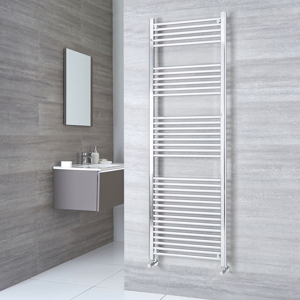 Kudox - Premium Flat Heated Towel Rail 1800mm x 500mm