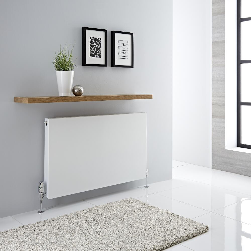 Milano Mono - Double Flat Panel Plus Convector Radiator - 600mm x 1000mm