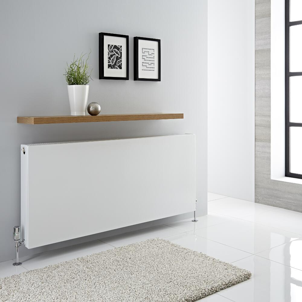 Milano Mono - Double Flat Panel Convector Radiator - 600mm x 1400mm