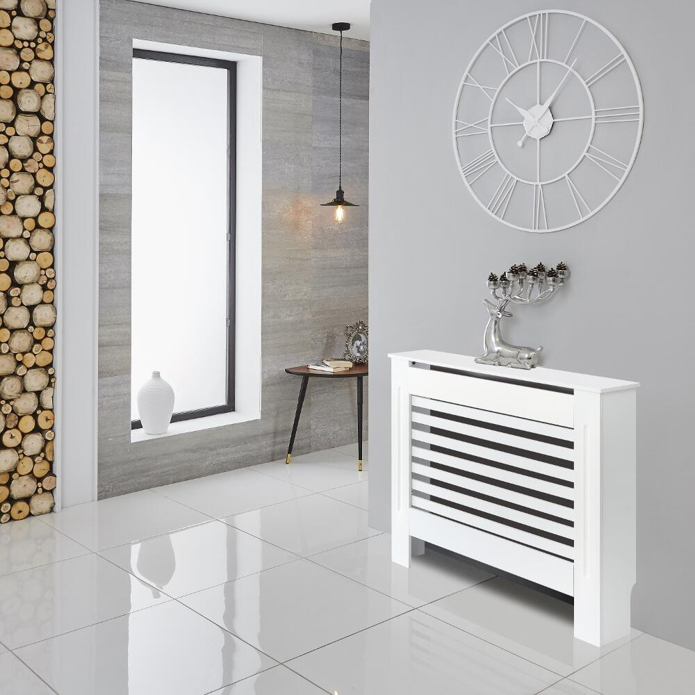 Milano Elstree - White Radiator Cabinet - 815mm x 1120mm