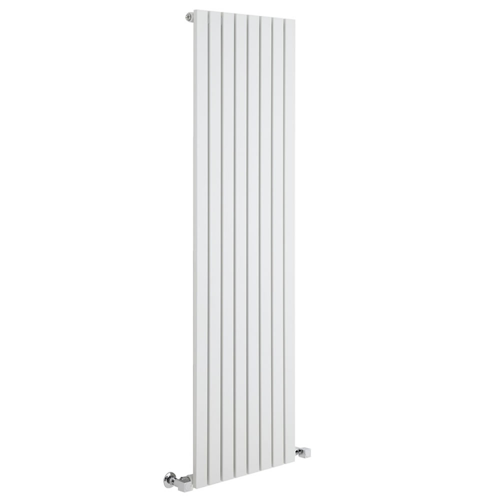 Radiators Milano Capri - White Vertical Flat Panel Designer Radiator 1780mm x 472mm