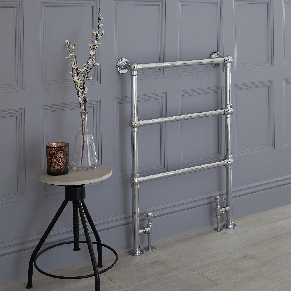 Milano Derwent - Traditional Heated Towel Rail 930mm x 632mm