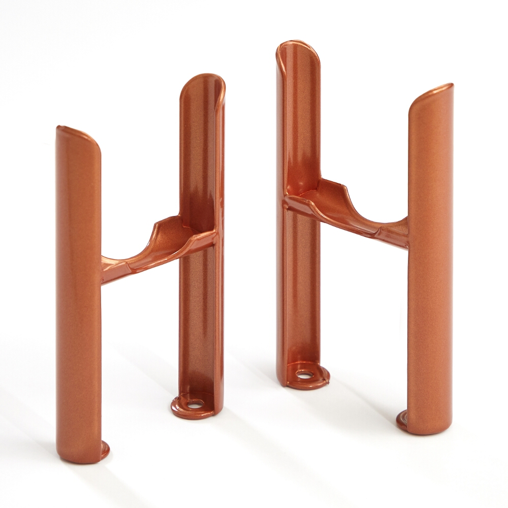Milano Windsor - Traditional 3 Column Windsor Radiator Feet – Metallic Copper