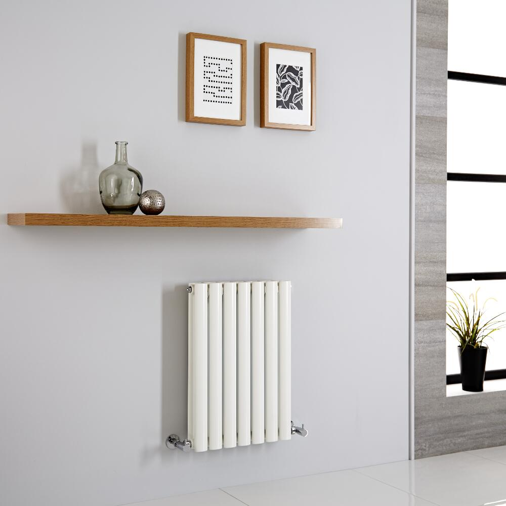 Milano Aruba Aiko - Modern Horizontal Designer Radiator 600mm x 415mm (Double Panel)