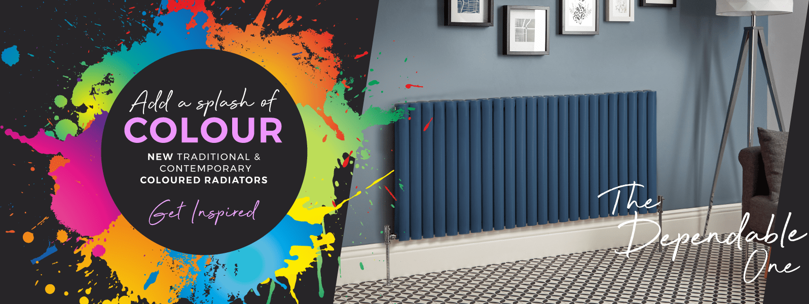 Add A Splash Of COLOUR   NEW Traditional & Contemporary Coloured Radiators   Get Inspired