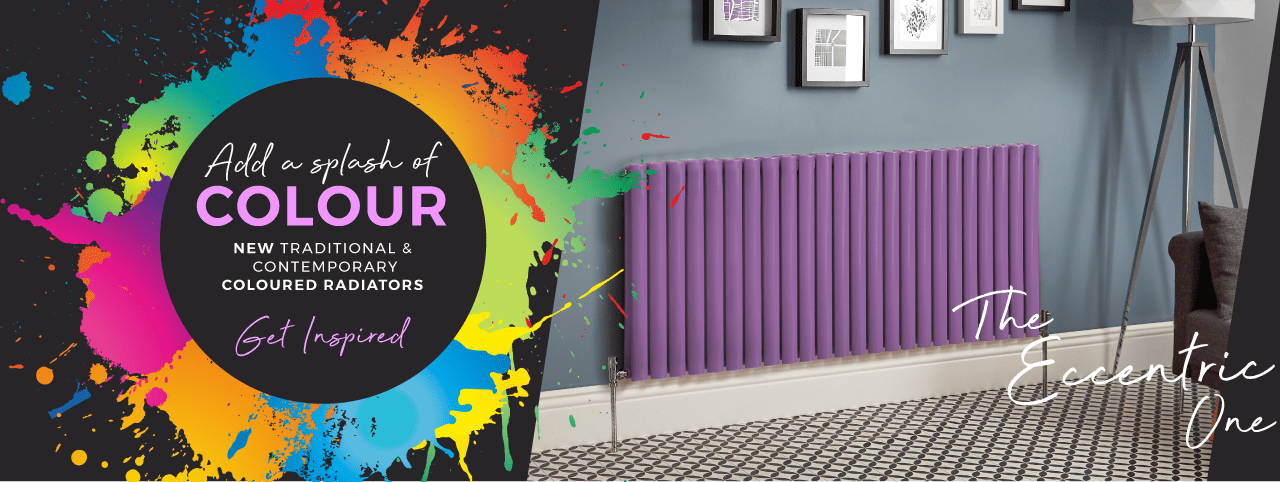 Add A Splash Of COLOUR | NEW Traditional & Contemporary Coloured Radiators | Get Inspired