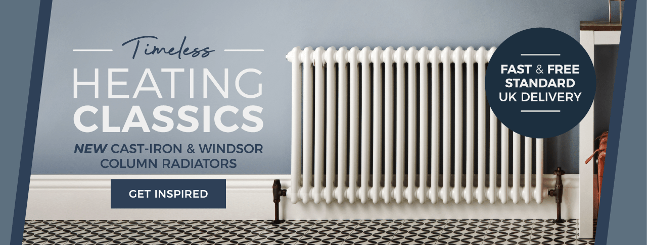 Timeless Heating Classics - NEW Cast-Iron & Windsor Column Radiators