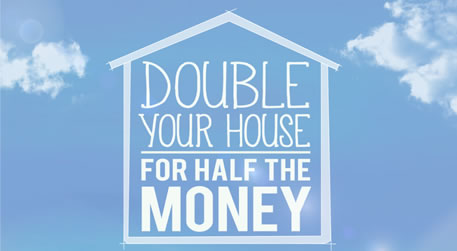 Double your house logo