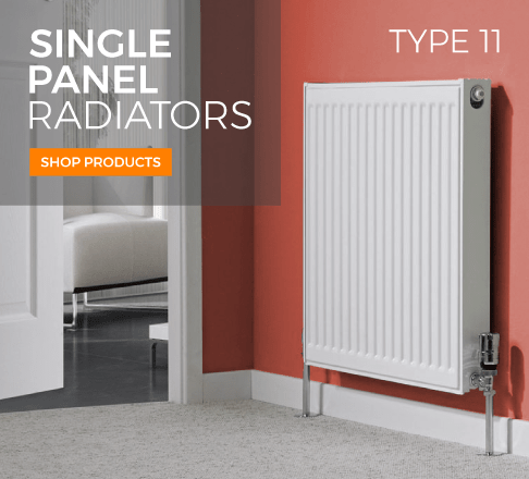single panel plus convector radiators