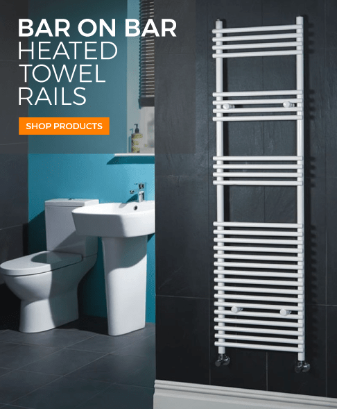 bar on bar heated towel rails