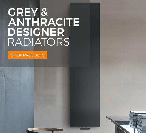 grey and anthracite designer radiators