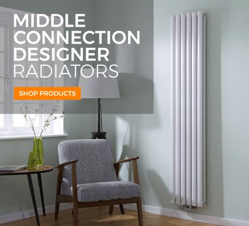 middle connection designer radiators