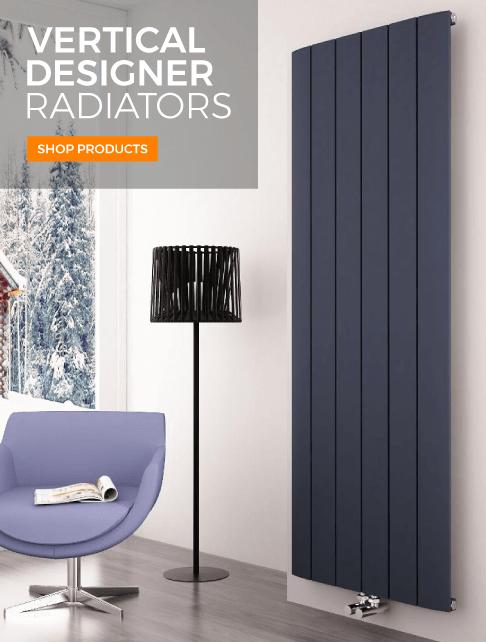vertical designer radiators