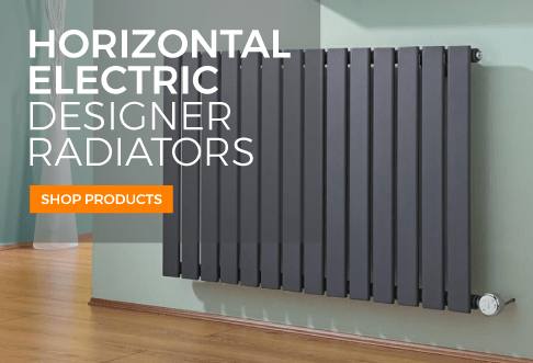 horizontal electric designer radiators