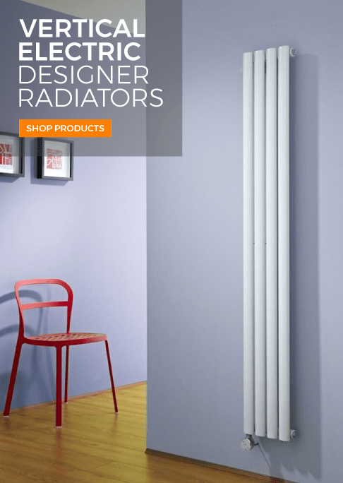 vertical electric designer radiators
