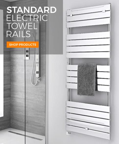 standard electric towel rails