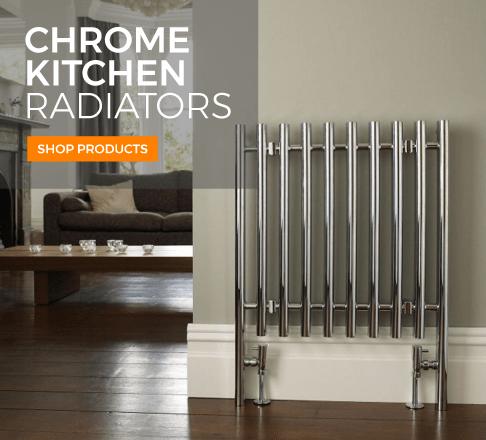 Chrome Kitchen Radiators
