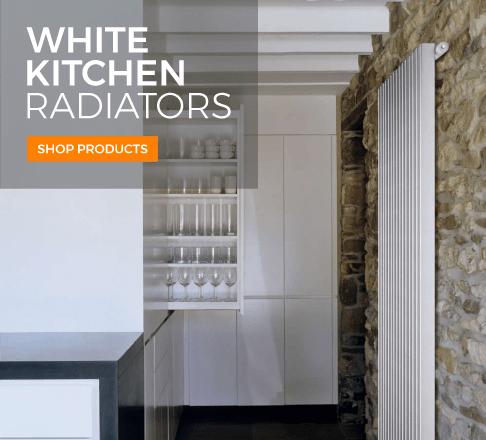 White Kitchen Radiators