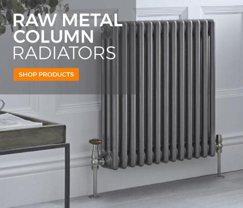 raw column metal radiators