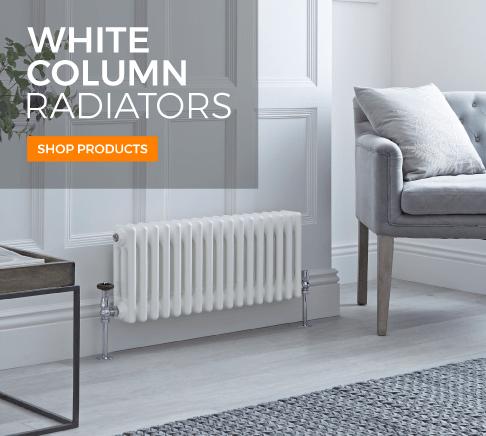 white column radiators