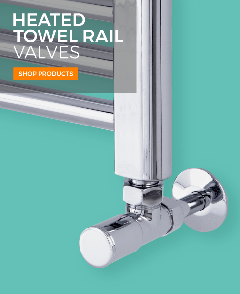 heated towel rail valves